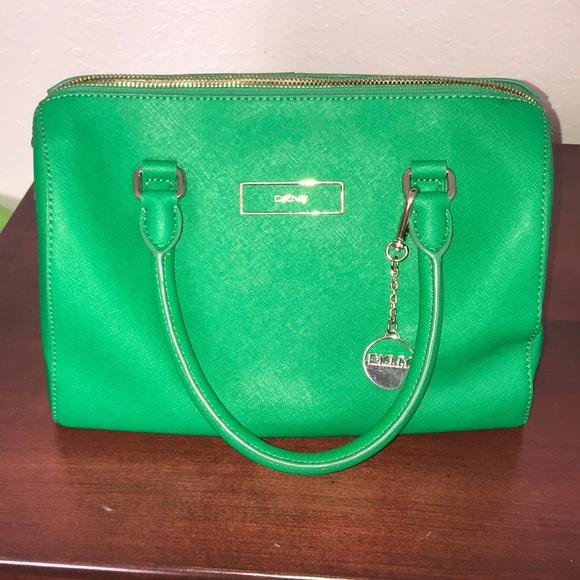 Dkny Bags   Kelly Green Purse   Poshmark 12e0650585